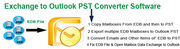 Restore mailbox data Exchange EDB file to Outlook PST File