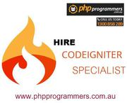 Codeigniter programmers for Php framework
