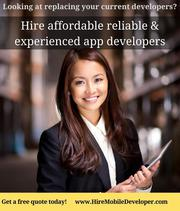 Hire top mobile app developers for iOS,  Android,  hybrid app developmen