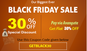 Black Friday Special 30% Discount on all Products |Software